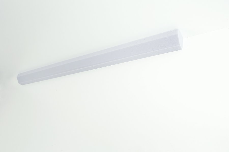 Corner absorber Basotect® - light grey 3 cm