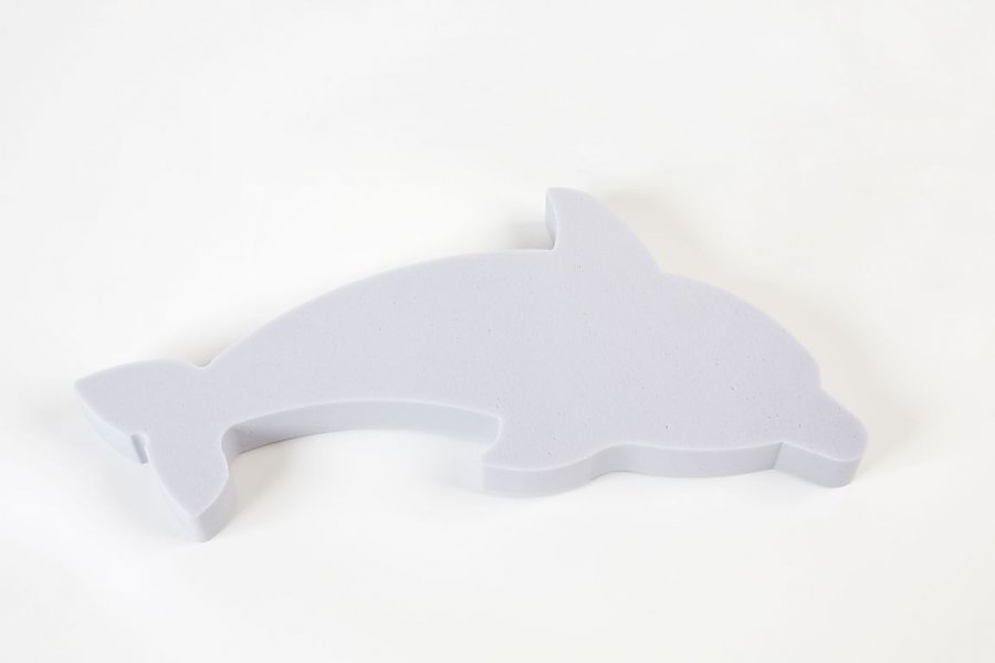 Dolphin Basotect® - light grey 5 cm