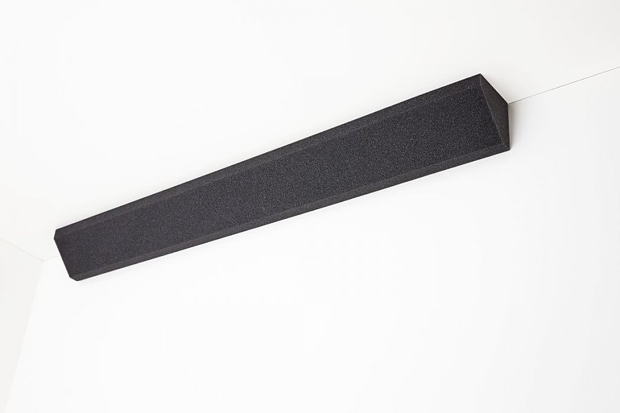 Corner absorber PU - grey anthracite 2 cm