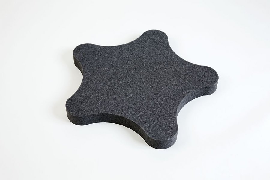 Star PU - grey anthracite 5 cm